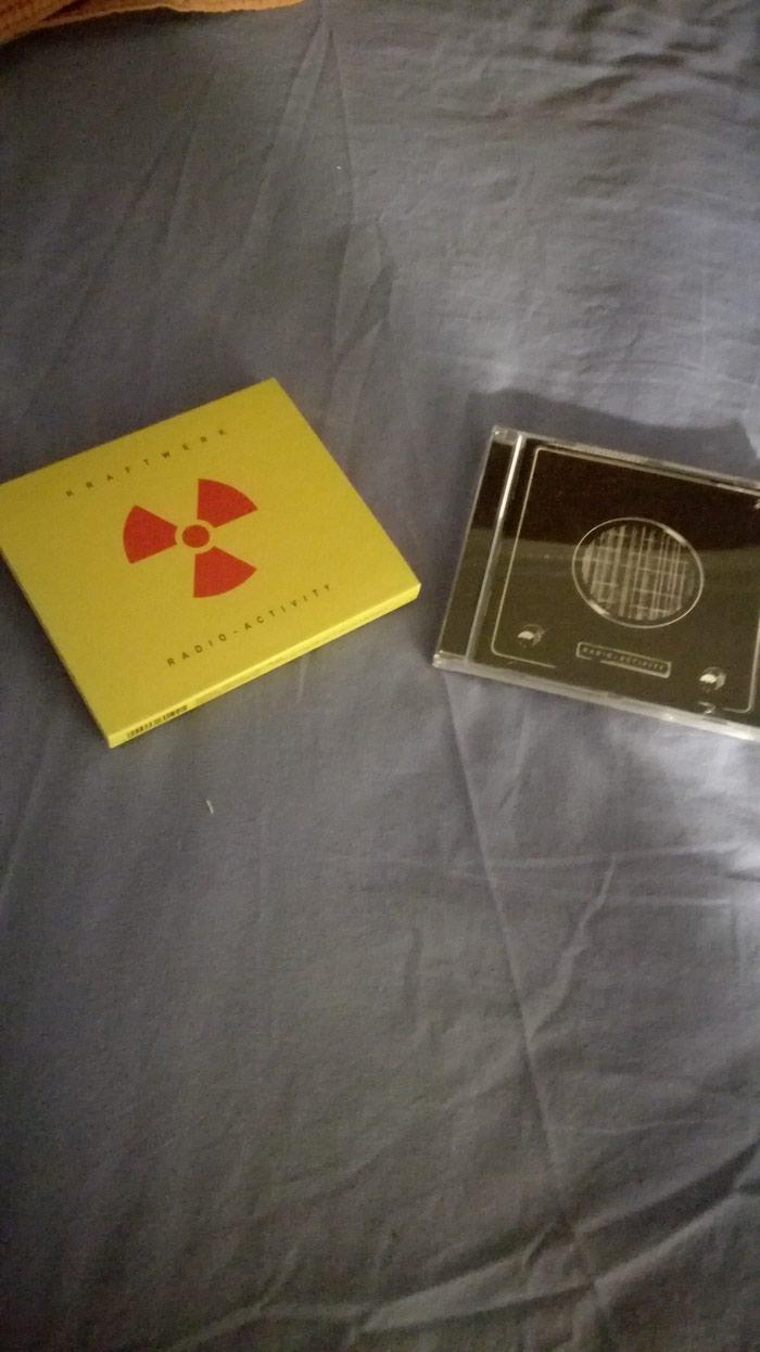 Kraftwerk's Radioactivity CD, with slipcase. 2009 Remastered version. σε Αχαρνές