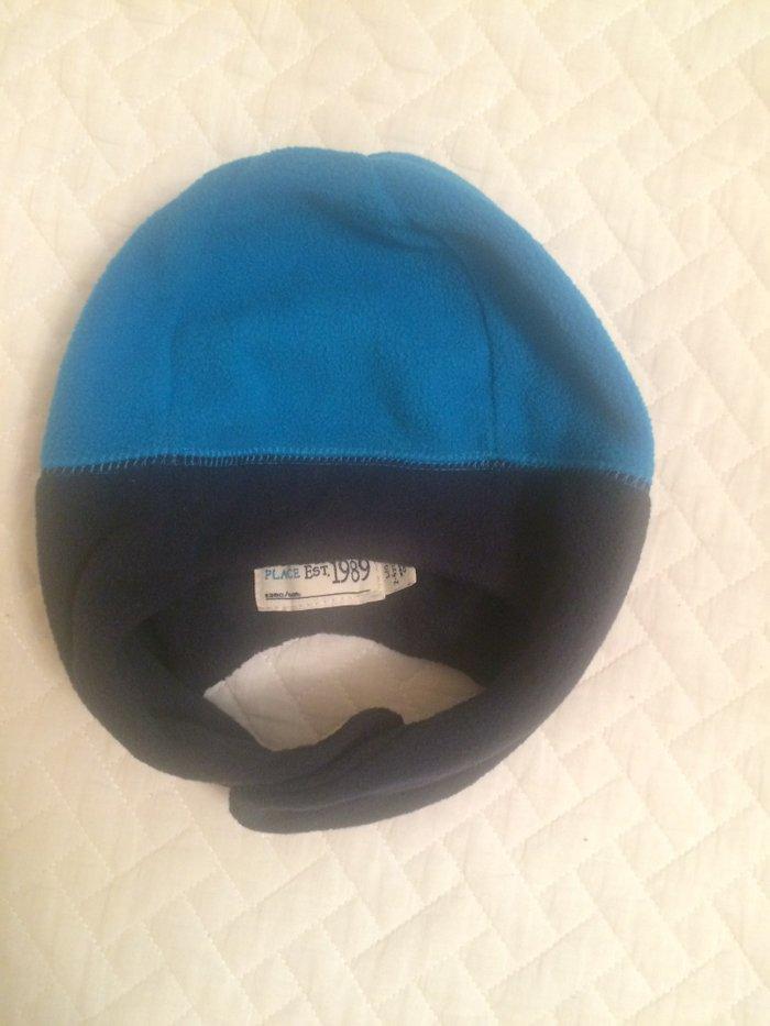 Шапочка синяя флис,новая без этикетки, размер 2-4 года,обьем головы 50 в Бишкек