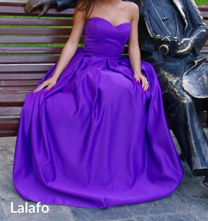 Bakı şəhərində Платье вечернее s-xs размер, сшито для фотоссесии, одето один раз! кор