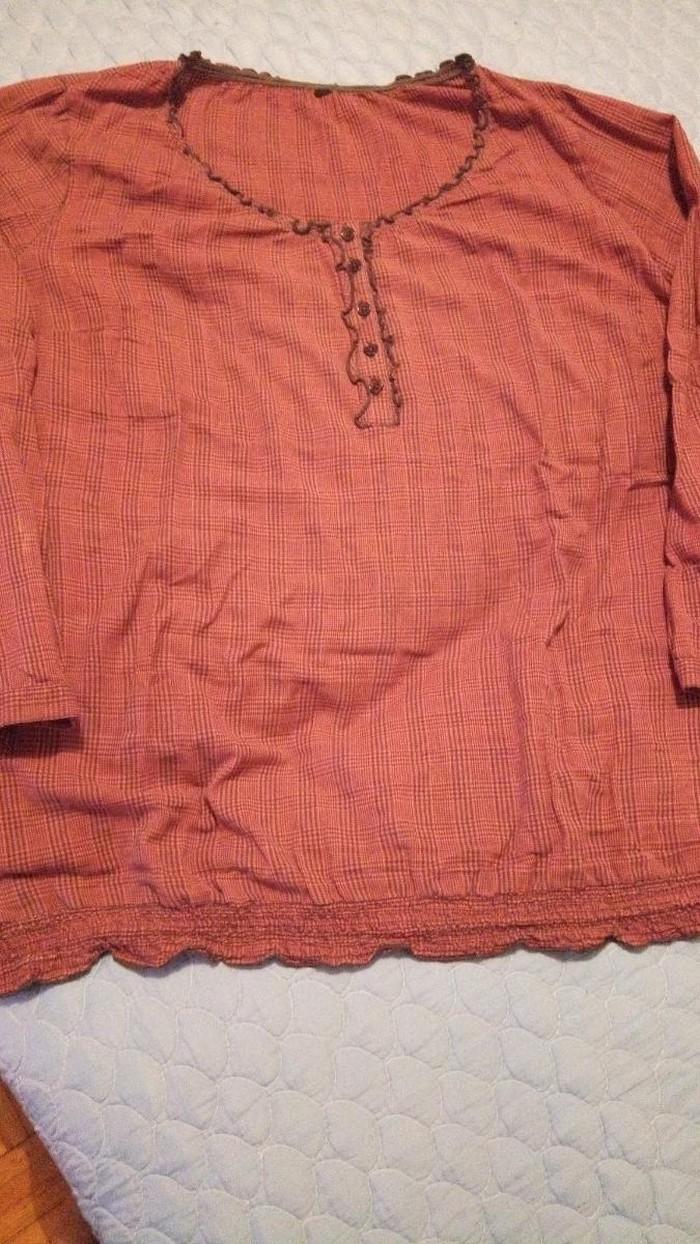 Tunika velika za punije osobekaro tanak materijal
