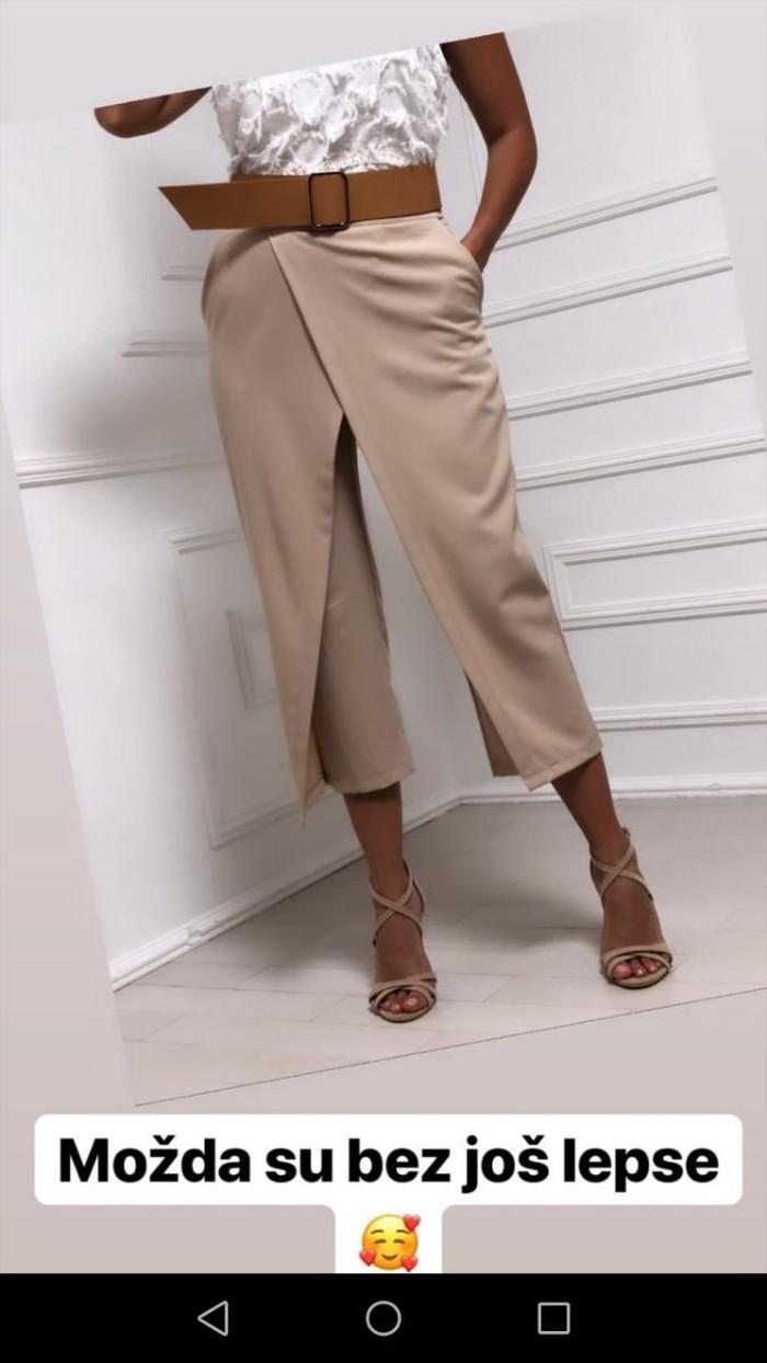 M broj pantalone, bez boja