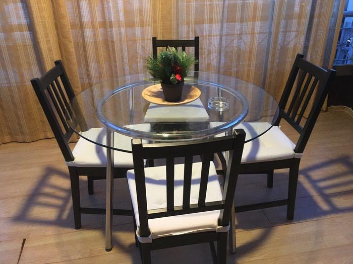 Σέτ καρέκλες και τραπέζια. Photo 0