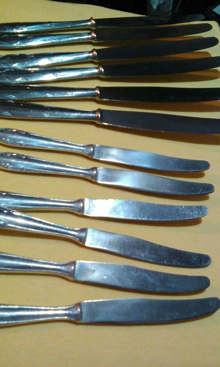 Σετ μαχαίρια φαγητού, φρούτου ανοξείδωτο ατσάλι 12 κομμάτια. Photo 0