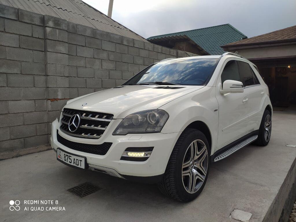 Mercedes-Benz ML 350 3.5 л. 2011 | 135000 км: Mercedes-Benz ML 350 3.5 л. 2011 | 135000 км
