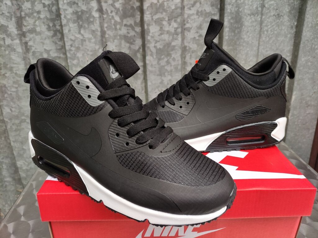 Muška obuća - Nis: Nike Air Max 90 Sneakerboot Black/White Nike Pakovanje-NOVO-