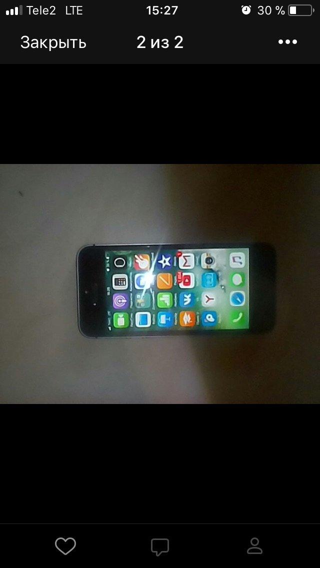 Iphone se, 32GB памяти, не поломан всё работает хорошо, пишите, разгов. Photo 3