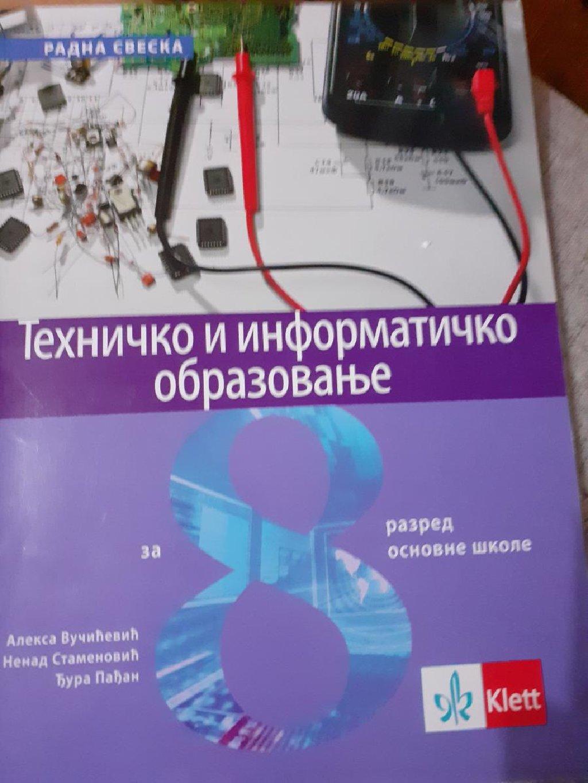 Radna sveska za texnicko i informaticko obrazovanje izdavaca klett  za 8