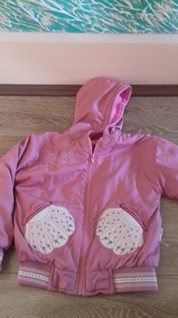 Jesenja jakna za devojcice od 7 do 10 godina