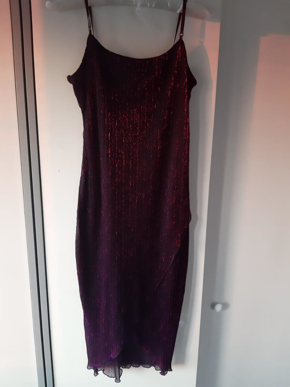 Zenska haljina sa sljokicama - Univerzalna velicina
