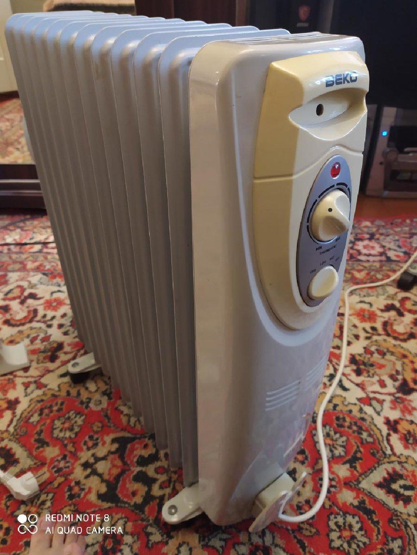 Beko elektrik radiatoru. Photo 0