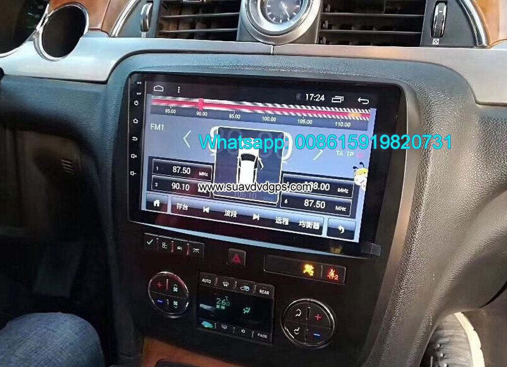 Buick Enclave Car audio radio android GPS camera factory