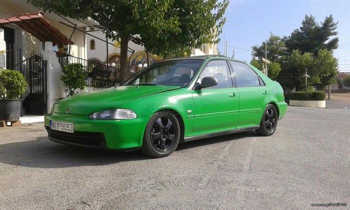 Honda Civic 1995. Photo 0