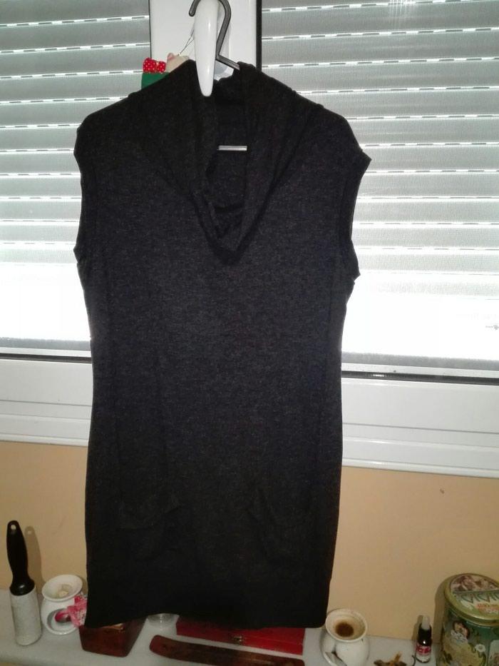 Μπλουζοφορεμα χρώμα μαύρο,νούμερο small. Photo 2