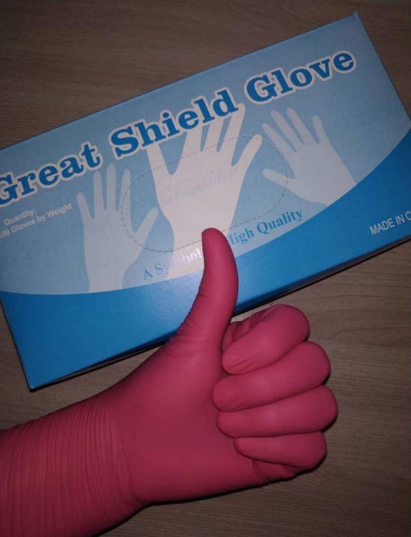 по цене: 750 KGS: Перчатки нитриловые