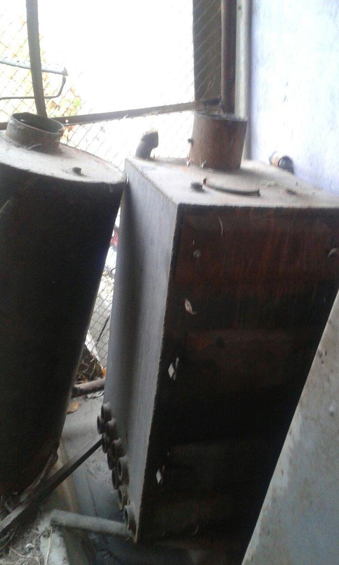 Продаю котел отопительный с болером и тенами на 40кв в Бишкек