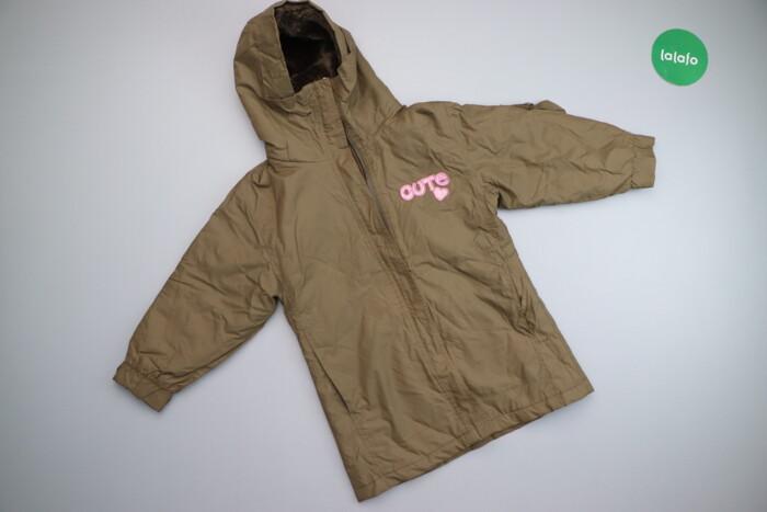 Дитяча куртка з капюшоном Cute, вік 5-6 р.    Довжина: 59 см Ширина пл: Дитяча куртка з капюшоном Cute, вік 5-6 р.    Довжина: 59 см Ширина пл