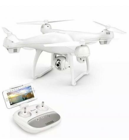 Potensic T35 drone, Advanced GPS assisted, Smart Return to Home (RTH), Follow Me Mode, Altitude hold, Headless Mode, One-Key Take-off / Landing and Emergency Stop Παλιά Σχεδίαση