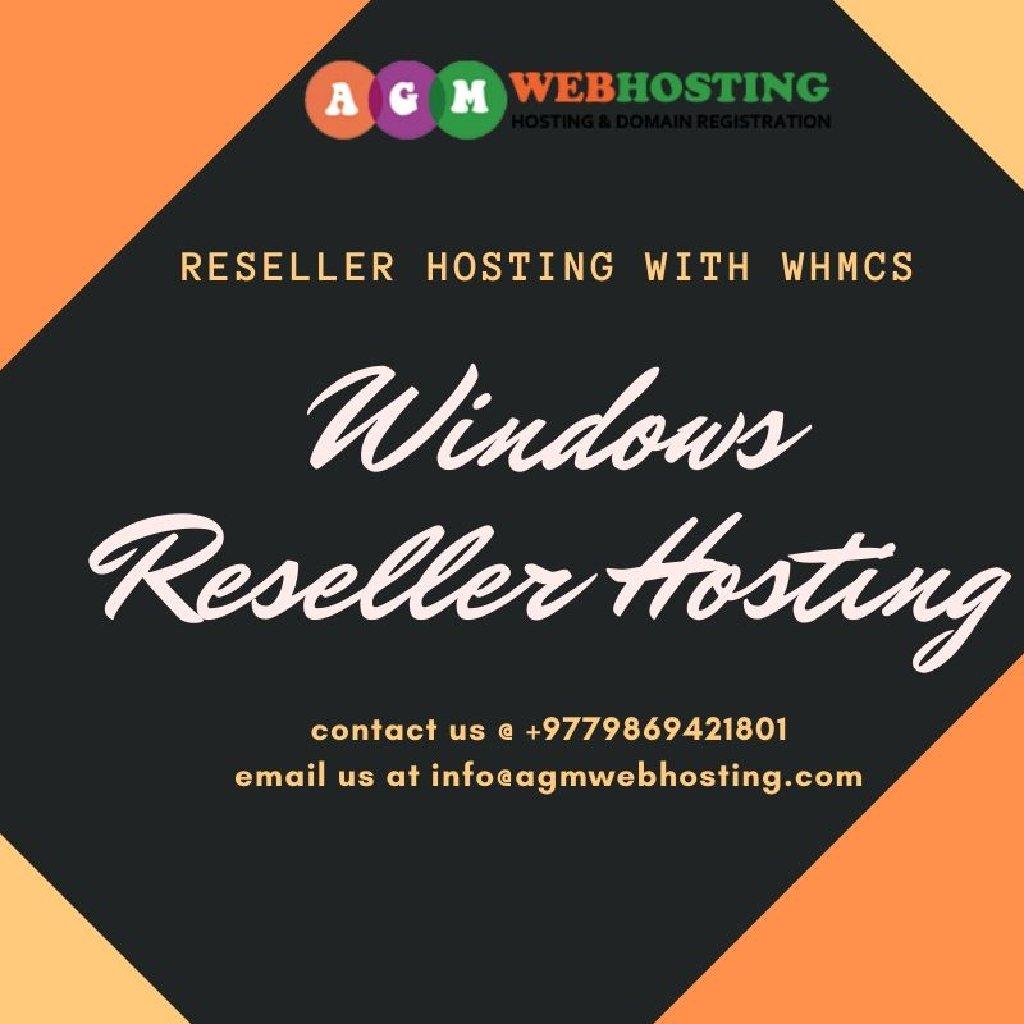 Windows Reseller Hosting Plans starting at Just NPR