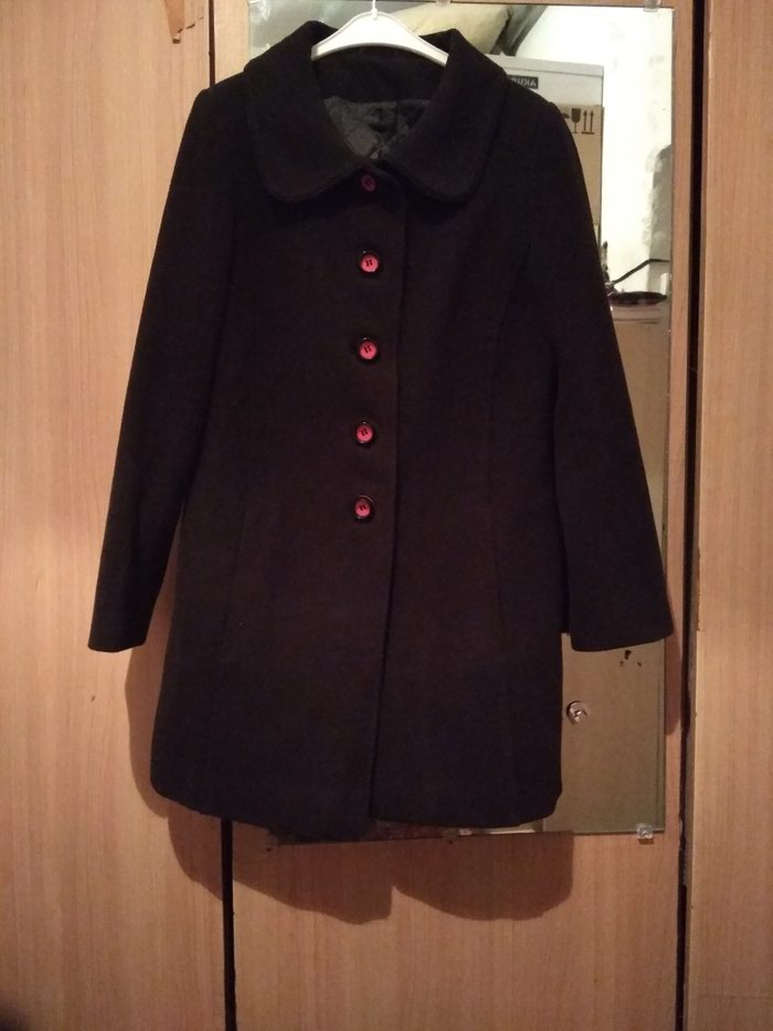 Кашемир. пальто ( сюртук).размер 50-52. б/у. Photo 0