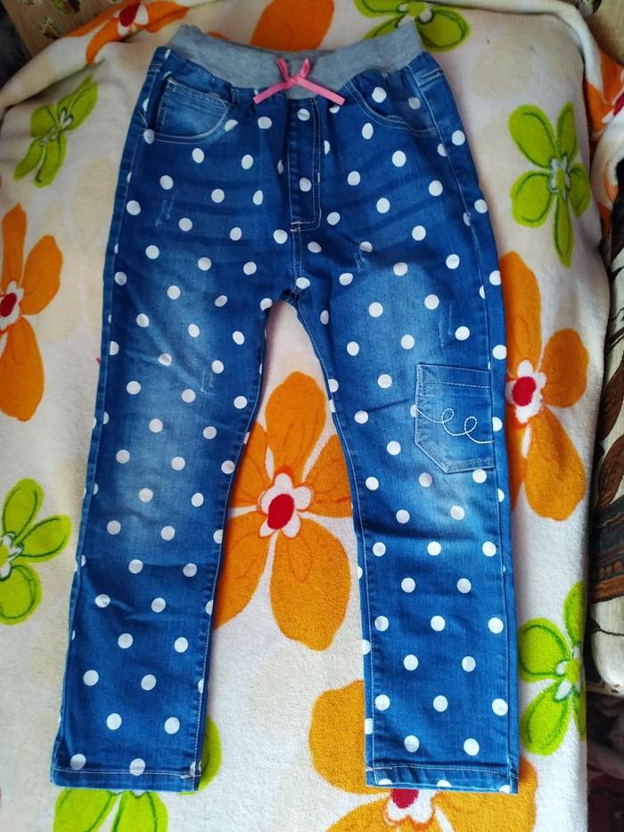 Продаю детские джинсы 300 сом на 5-6 лет. Photo 0