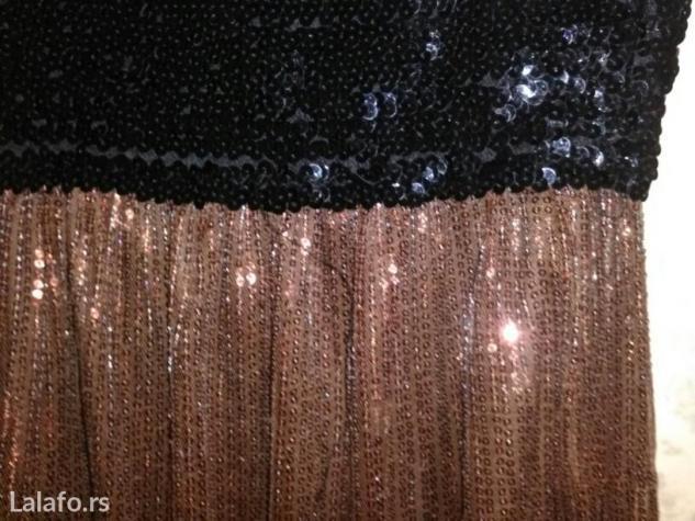 Haljina sa sljokicama,jednom nosena. Photo 1
