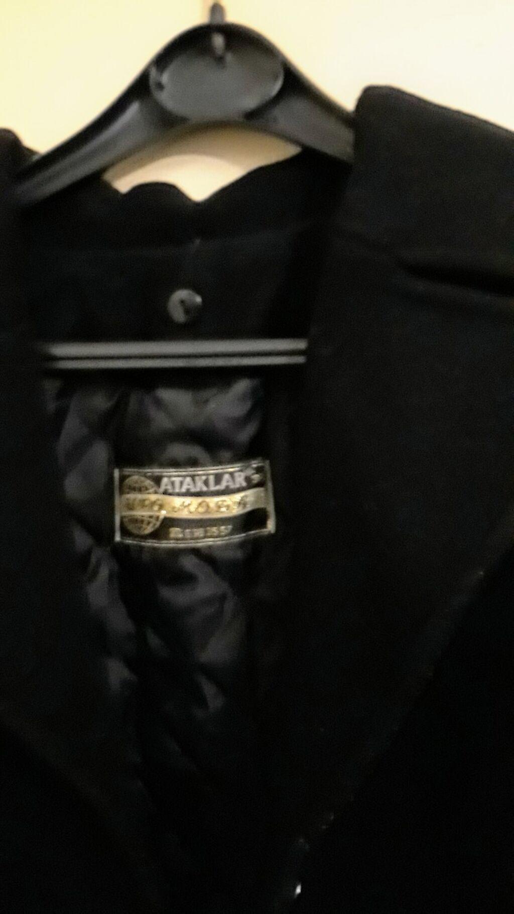 Crni kaput KAO NOV