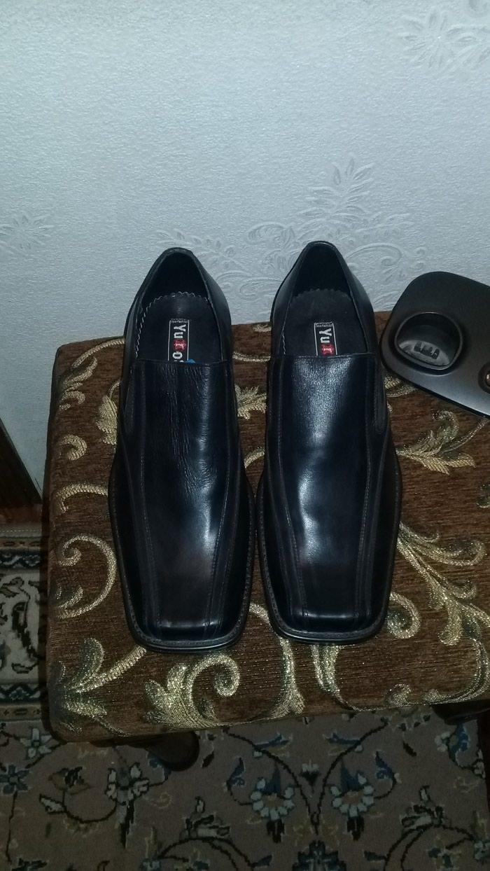 Кожанные туфли 43 размера. Photo 4