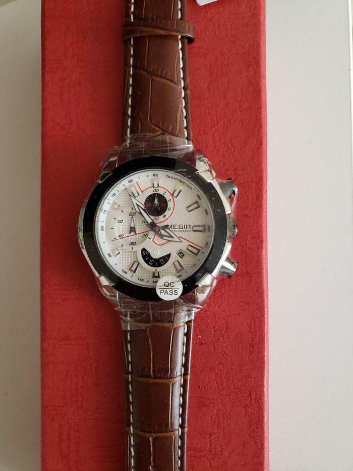 9705f59b9579 Новые мужские часы фирмы Megir, с кожаным браслетом. , цена  3300 ...