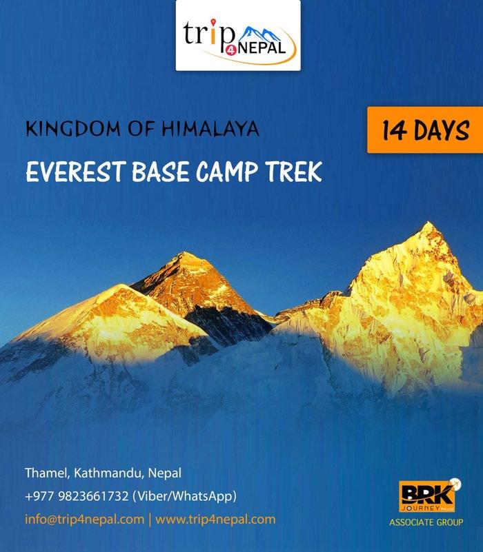 Everest Base Camp Trek www.trip4nepal.com in Kathmandu