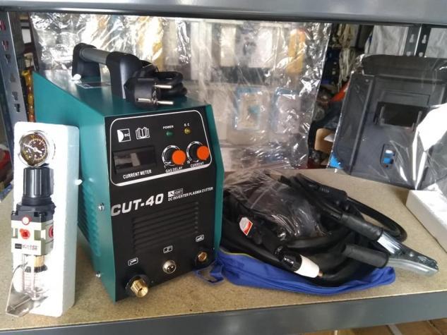 Πλασμα κοπής CUT40 εξελιγμένη τεχνολογία inverter με υψηλή αποδοτικότητα που μπορεί να προσαρμόζει το ρεύμα ελεύθερα