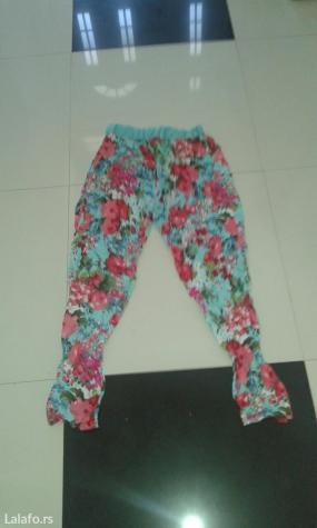 Pantalone sareni print novo za leto