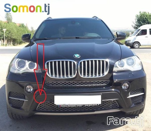Заглушка буксировки на BMW X5 2012.. Photo 1