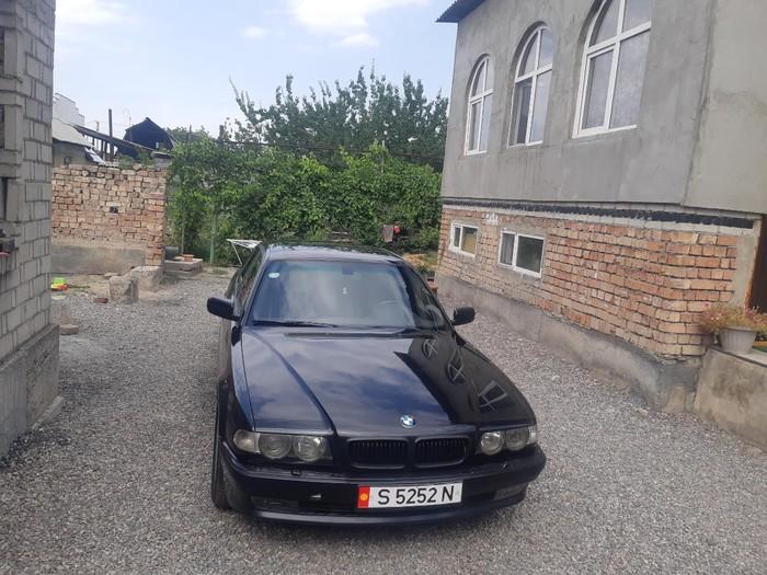 BMW 740 2000. Photo 9