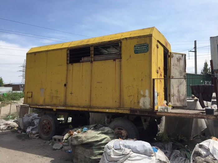 Строительная будка (вагон) на колесах. Photo 3