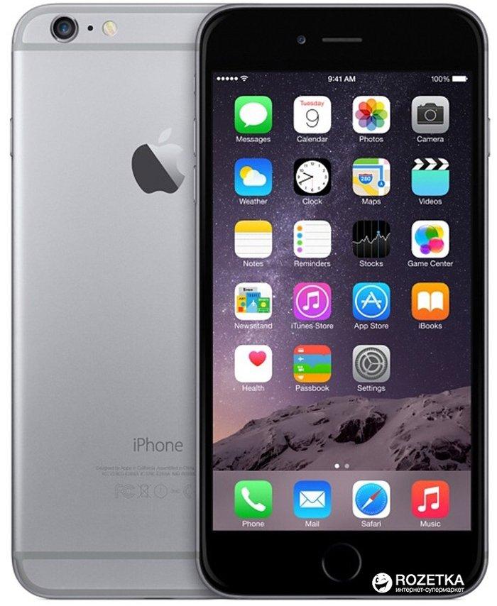 Iphone 6 64gb, space gray, в идеальном состоянии 100 из 10, полный ком в Бишкек