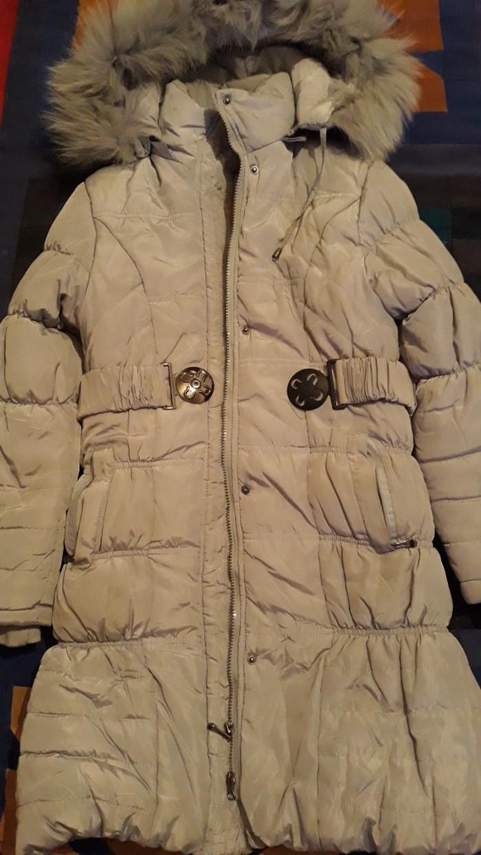 Зимняя куртка для девочки . Возраст 10-13лет.. Photo 0