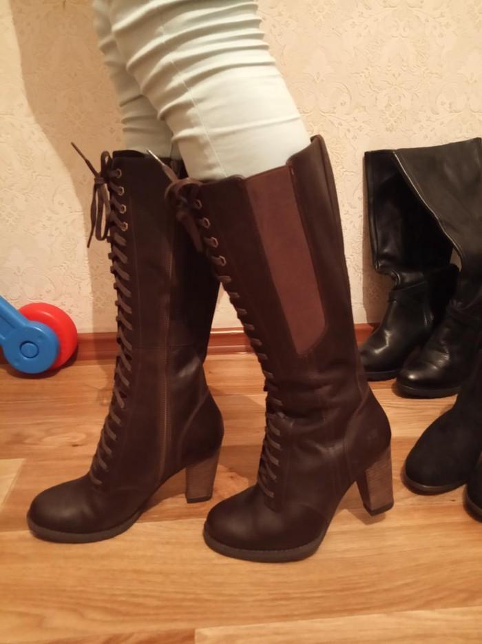 Кожаная брендовая обувь первая  Timberland 38 размер,  вторая next 37
