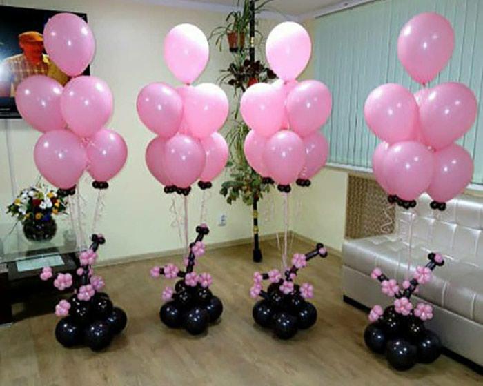 Белоснежные шары на свадьбу!. Photo 5