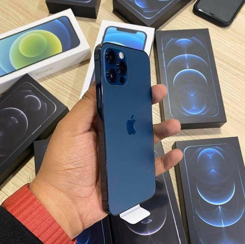 Νέα iPhone 12 Pro 512 GB Μπλε: Νέα iPhone 12 Pro 512 GB Μπλε