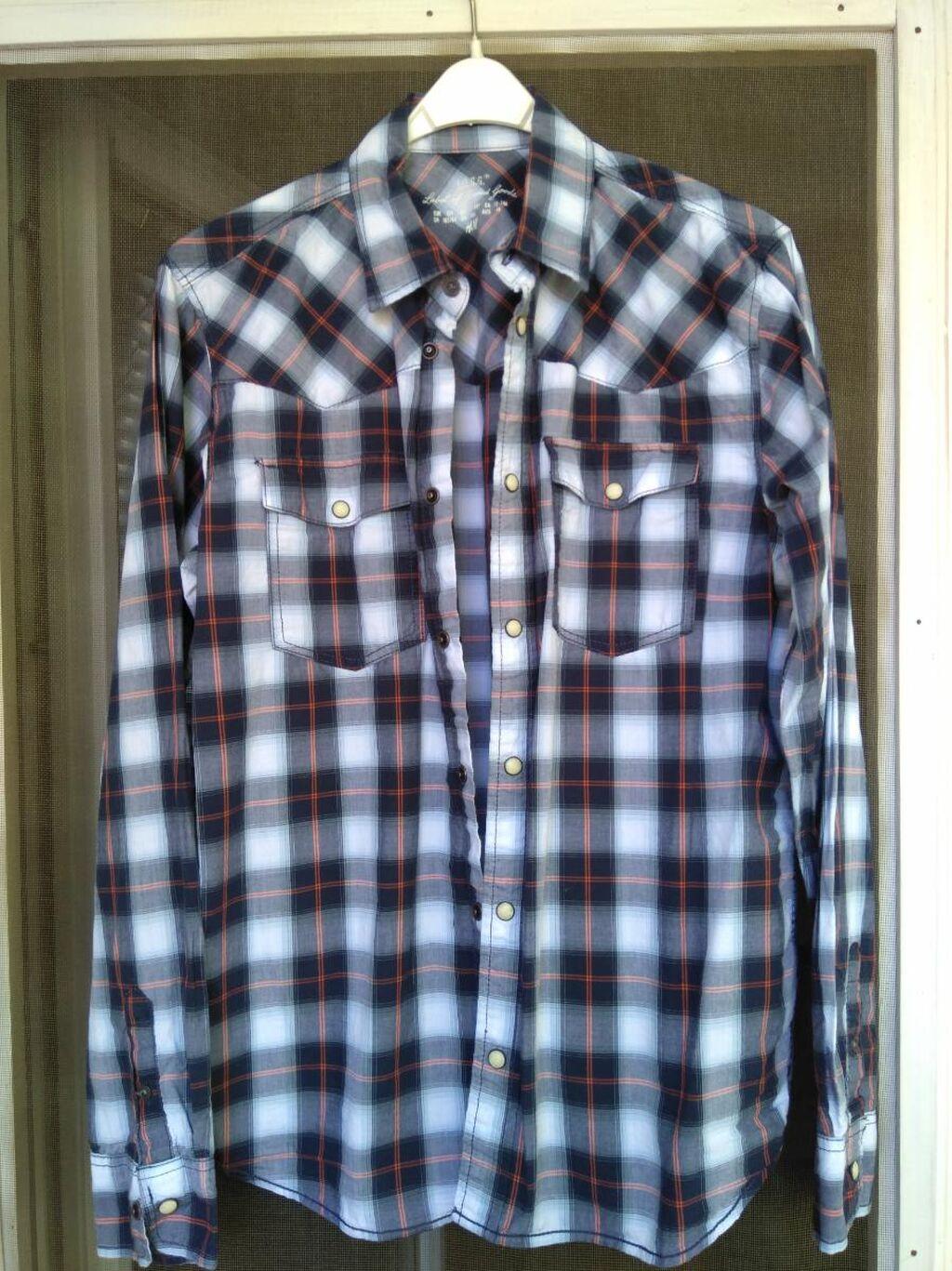 Košulja za decake, HM, veličina 164, 100% pamuk, bez oštećenja