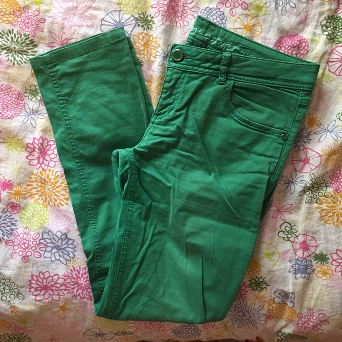EDC by Esprit green pants size 40 regular in perfect condition. Photo 0