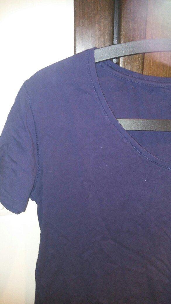 Μπλουζα ασυμετρη large φορεμενη μια φορα. σε μπλε χρωμα. αποστολη με π. Photo 1