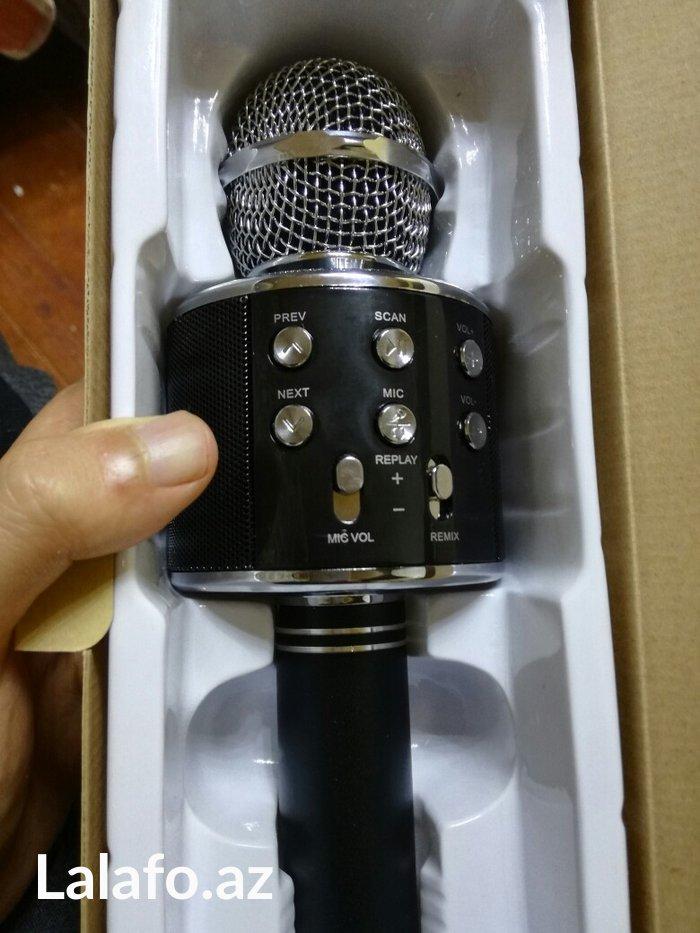 Bakı şəhərində mikrofon wireless hifi-100%orjinal  blutuz.sd kart yeri.kalonka.usb ye