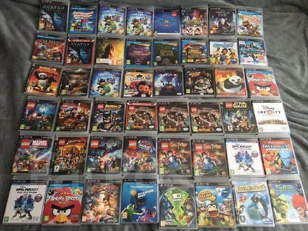 Uşaq uçün Playstation 3 oyunlar