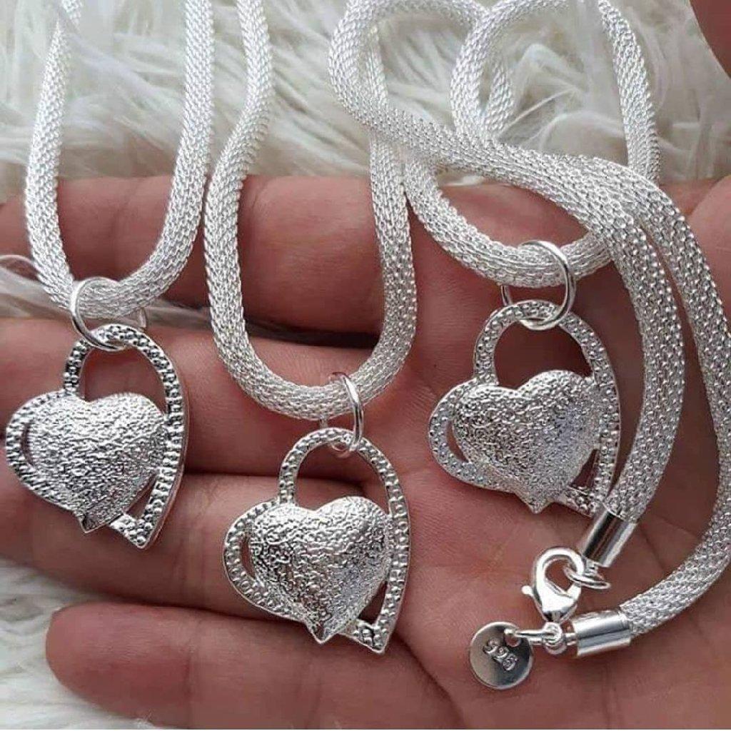 Ogrlica, silver sterling 925