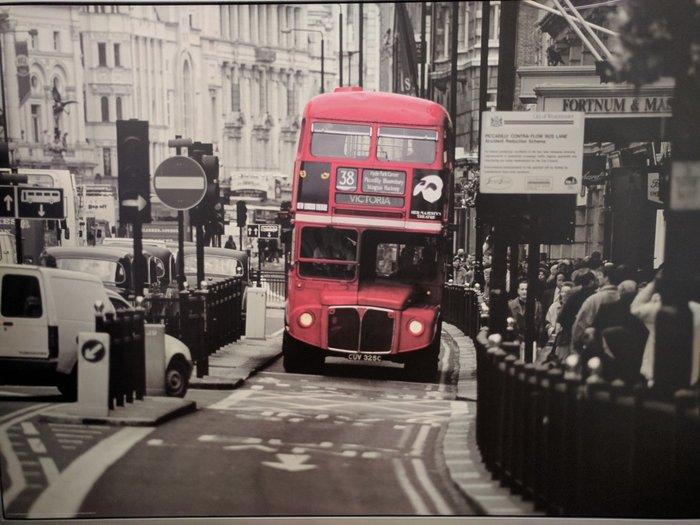 Πίνακας 140x100 London Bus σε Περιφερειακή ενότητα Θεσσαλονίκης