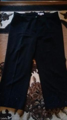 Капри черные. размер 50. турецкие. Photo 0