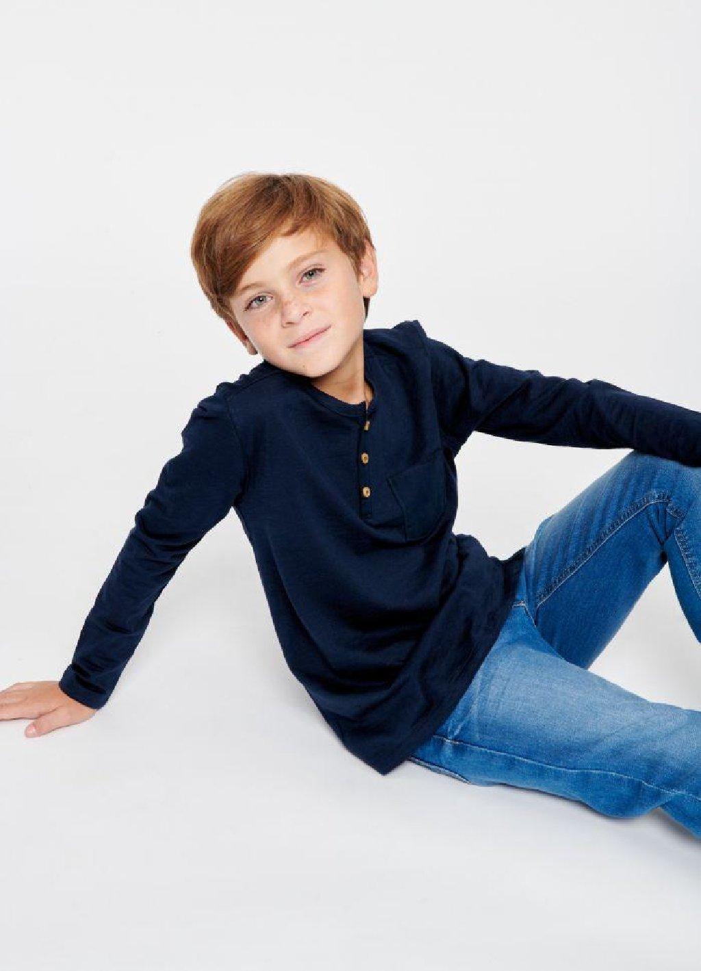Nova, sa etiketom, italijanska Calliope majica, dug rukav, za dečake uzrasta 4-5 godina, odnosno visine 104-110 cm