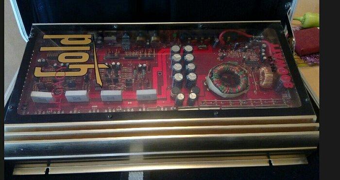 Ενισχυτής αυτοκινητου Legacy car amp 800watt Gold. Photo 1