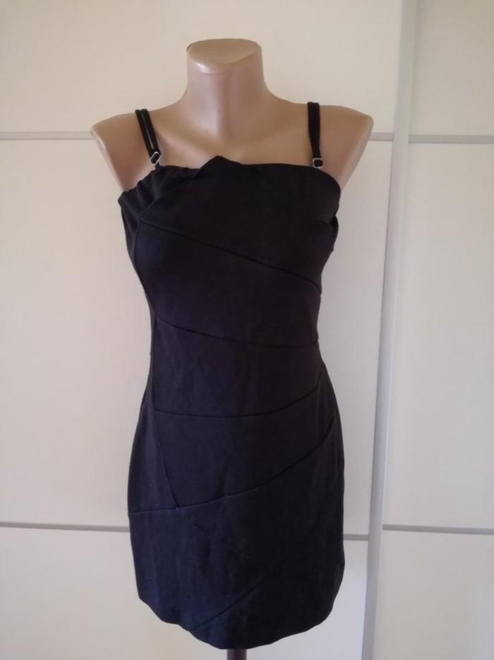 Nova crna pamucna haljina velicina S. - Bajina Basta